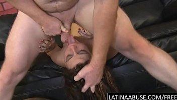 sloppy latina hatch and butt tucked