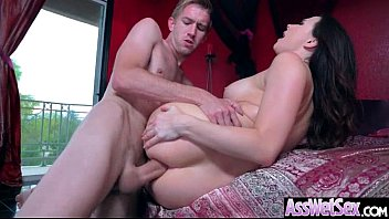 Big Ass Girl (Chanel Preston) Get Oiled Up And Hard Analy Nailed On Cam mov-16