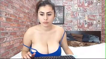 busty young female webcam