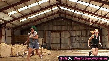 Girls out West - Hairy Lesbian Cunts Fucked with Fingers Full: https://goo.gl/VW