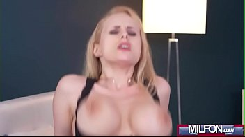 Hot load on blonde Milf'_s big tits(Angel Wicky) 04 mov-16