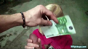 Sexy Euro Teen Suck Cock In Public For Cash 13