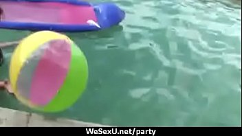 Horny sluts at party sucking dick before hardcore pussy 23