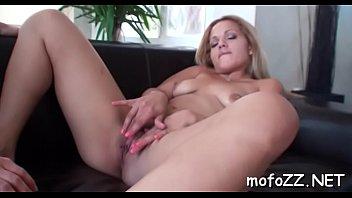 Sexy pornstar babe gets her dripping juicy bawdy cleft nailed