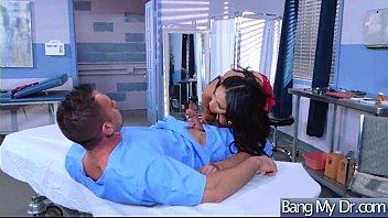 Horny Patient (Aria Alexander &amp_ Sofia Valletta) Get Hardcore Sex Treat From Doctor vid-01