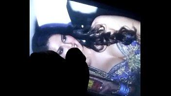 Sunny Leone slut Hot cum tribute on Big tits
