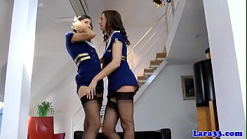 brit cougar jacking while in uniform