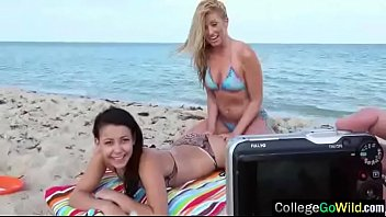 (alaina &amp_ chanel) College Girls Love Sex In Party Group Action movie-03