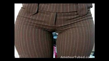 Big butt ass candid booty voyeur latina