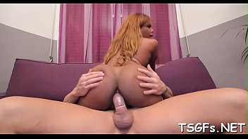vulgar tgirl supah-bitch gets sexually aroused of deep.