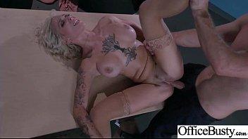 Hot Slut Office Girl (Harlow Harrison) With Big Boobs Bang Hardcore movie-27