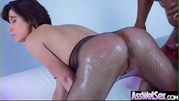 Hard Deep Anal Sex With Big Oiled Ass Girl (Aleksa Nicole) clip-02