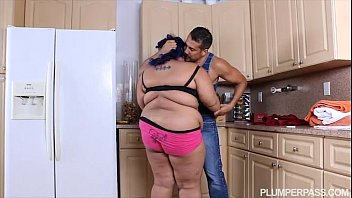 Angry BBW Babe is Calmed and Fucked by Hubby'_s Friend