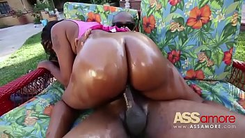 ample dark-hued donk nikki ford