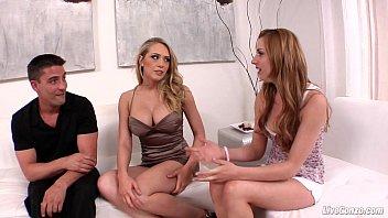 LiveGonzo Kagney Linn Karter Lexi Belle Beautiful Teen Threesome Action