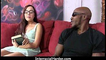 Real Latina MILF interracial sex tape 17