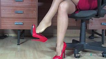 Milf Secretary in a Pantyhose