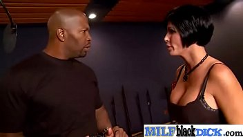 Horny Mature Lady (shay fox) Busy In Hardcore Bang On Big Black Cock mov-26