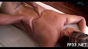 kneading a crazy ultra-cutie with rubdown before oral stimulation
